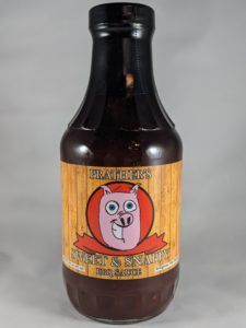 Prather's Sweet & Snappy BBQ Sauce